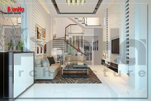 BIA Thiết kế nội thất nhà phố hiện đại đep tiện nghi tại hải phòng NT NOD 0077