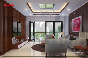 BIA Thiết kế nội thất nhà phố kết hợp kinh doanh hiện đại tại hải phòng NT NOD 0115