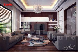 BIA Thiết kế nội thất văn phòng công ty kết hợp nhà ở sáng tạo hiện đại tại hải phòng NT NOD 0099