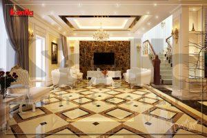 BIA Thiết kế thi công nội thất biệt thự cổ điển đẹp tại Hải Phòng NT BTD 0027