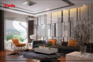 BIA Thiết kế và thi công nội thất nhà phố hiện đại 4 tầng tại hải phòng NT NOD 0100