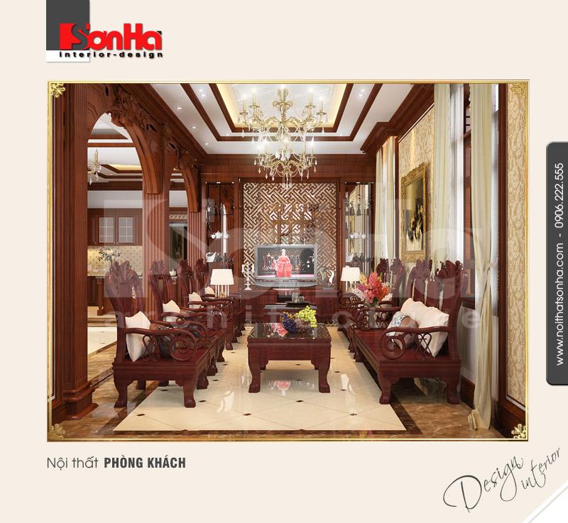 1.Cách trang trí thiết kế nội thất phòng khách tinh tế