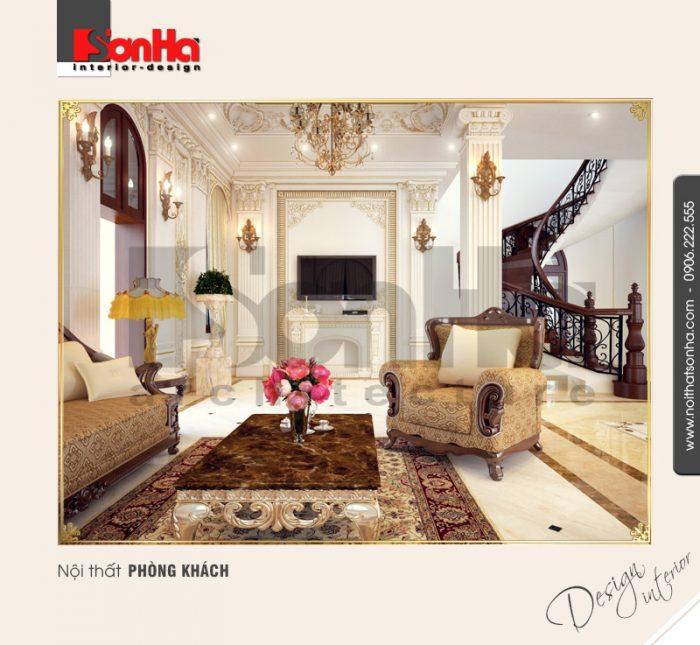 1.Thiết kế nội thất phòng khách đẹp