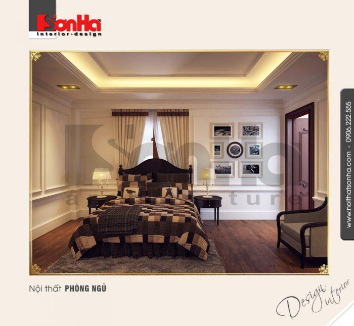10.Mẫu nội thất phòng ngủ cổ điển đẹp