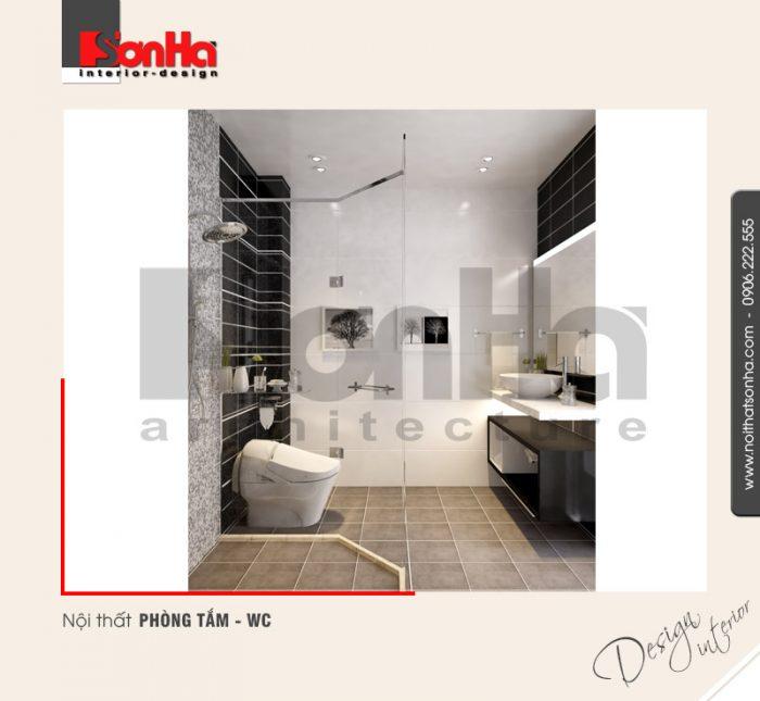 10.Mẫu nội thất phòng tắm wc dành cho nhà ống hiện đại tại hải phòng NT NOD 0123