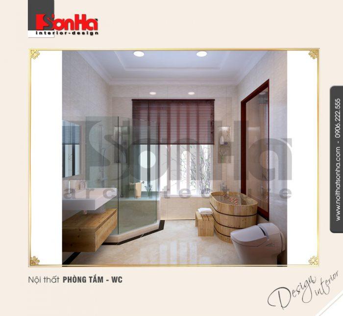 10.Mẫu nội thất phòng tắm wc đẹp