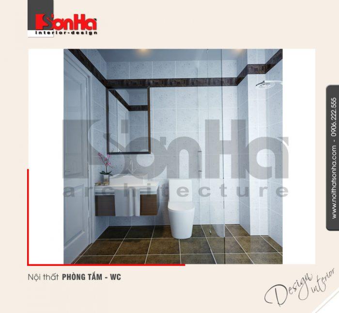 10.Mẫu nội thất phòng tắm wc hiện đại dành cho nhà phố tại quảng ninh NT NOD 0120