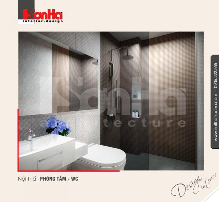 10.Mẫu nội thất phòng tắm wc hiện đại tại hải phòng NT BTD 0039