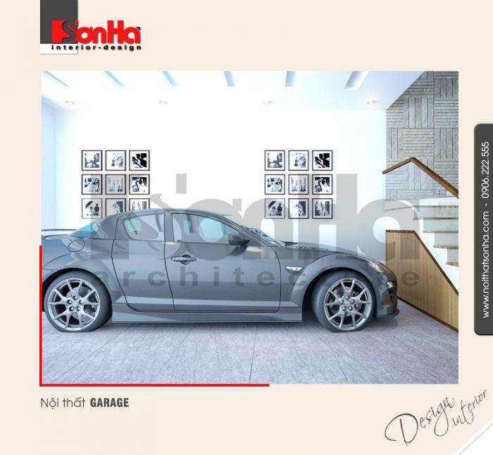 11.Thiết kế nội thất garage đẹp dành cho nhà phố tại quảng ninh NT NOD 0120