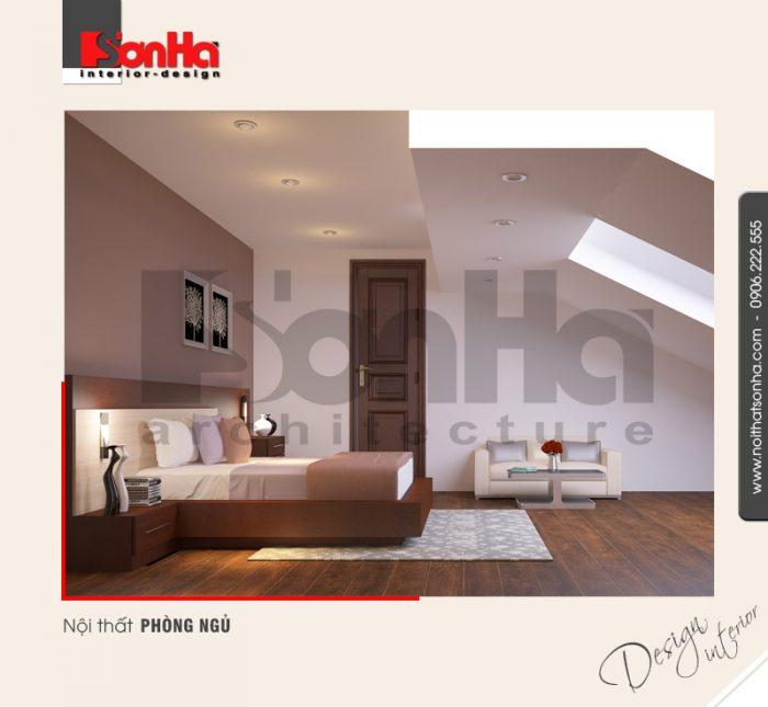 11.Thiết kế nội thất phòng ngủ không gian hẹp