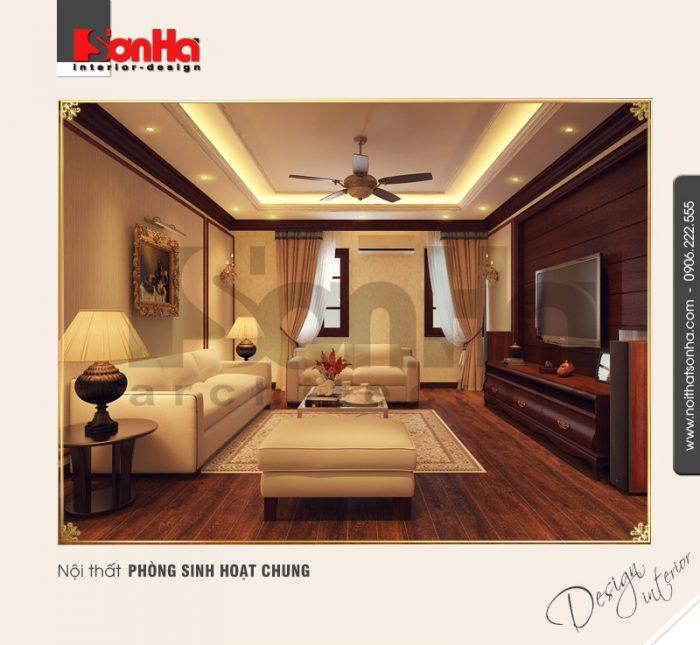 11.Thiết kế nội thất phòng sinh hoạt chung tinh tế