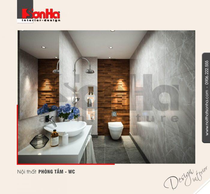 11.Thiết kế nội thất phòng tắm wc hiện đại tại hải phòng NT BTD 0039
