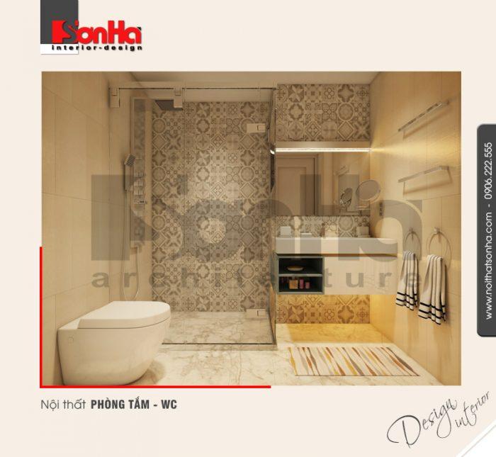 11.Thiết kế nội thất phòng tắm wc hiện đại tại hải phòng NT BTD 0041