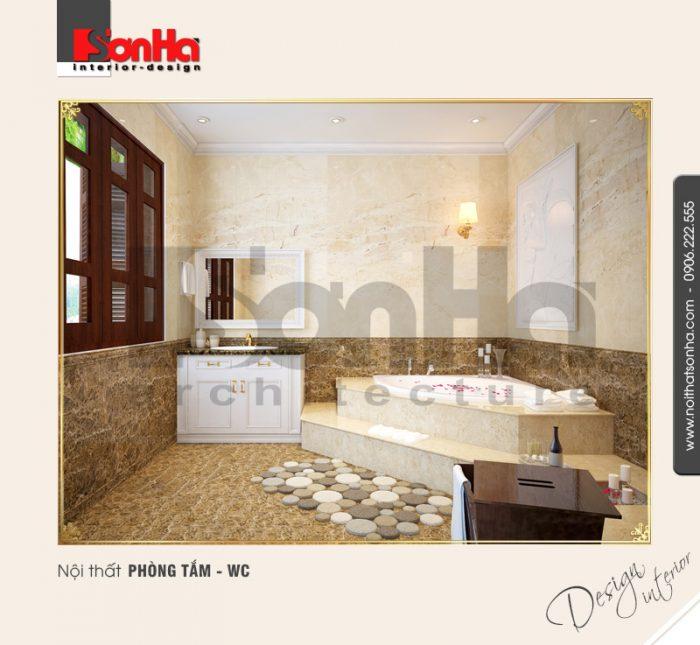 11.Thiết kế nội thất phòng tắm wc sang trọng