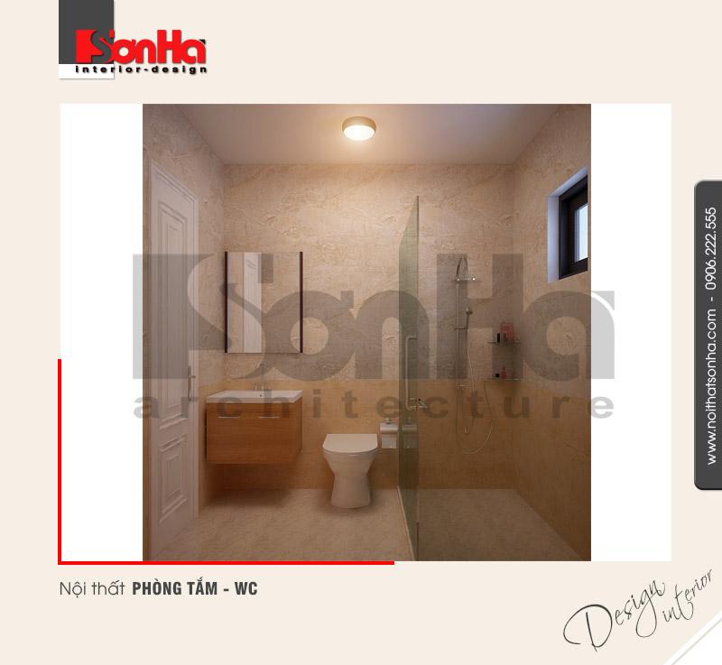 12.Mẫu nội thất phòng tắm wc nhà ống đẹp và hiện đại tại hải phòng NT NOD 0127