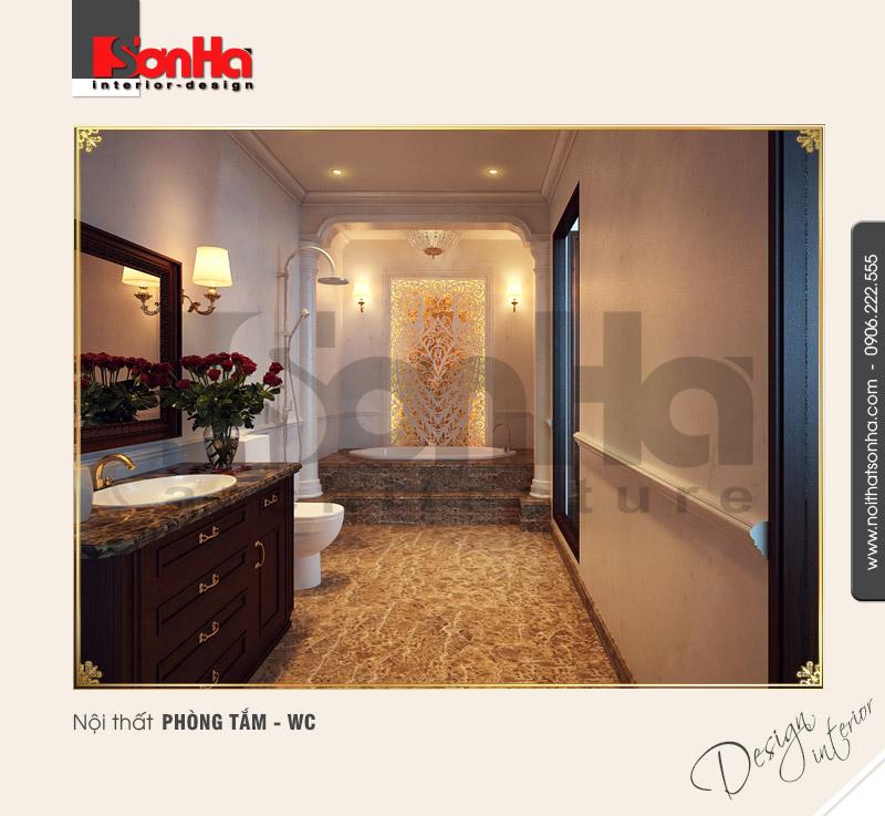 12.Mẫu nội thất phòng tắm wc sang trọng