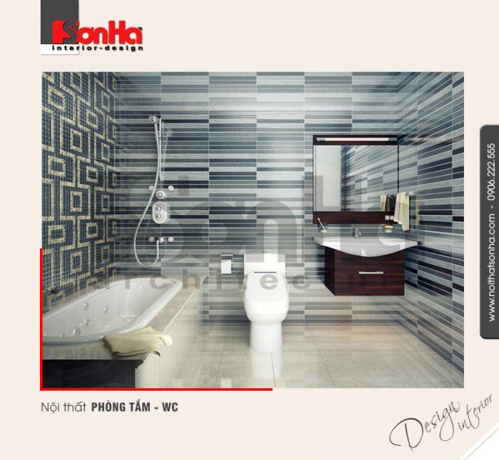 13.Thiết kế nội thất phòng tắm wc hiện đại tại huyện an dương hải phòng NT NOD 0133