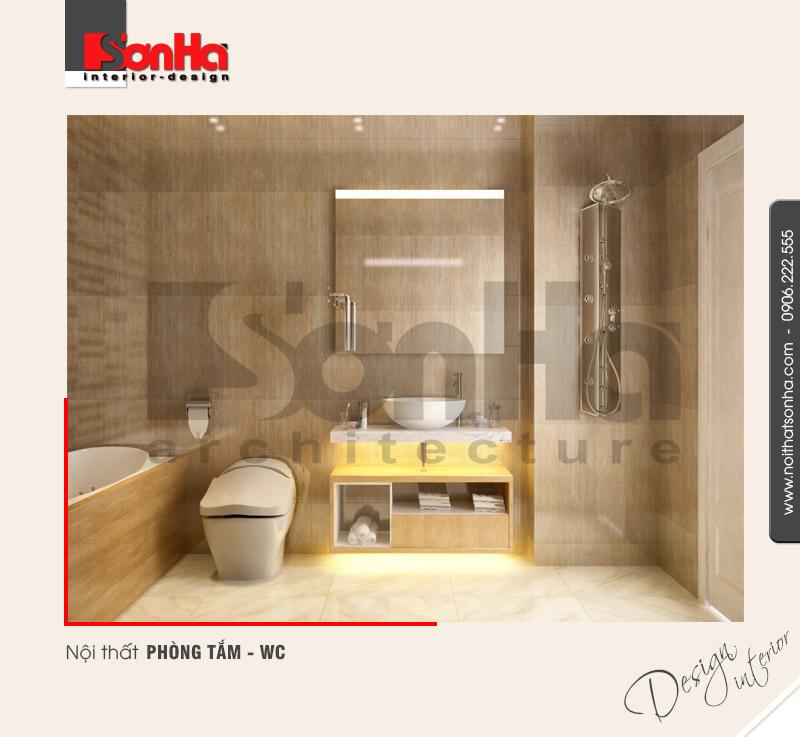 13.Thiết kế nội thất phòng tắm wc tiện dụng