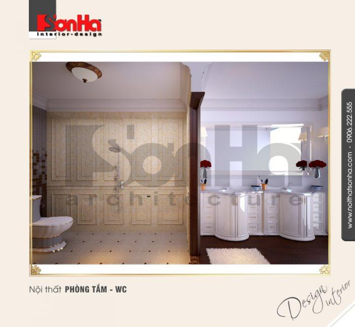 15.Thiết kế nội thất phòng tắm wc bố trí hợp ly