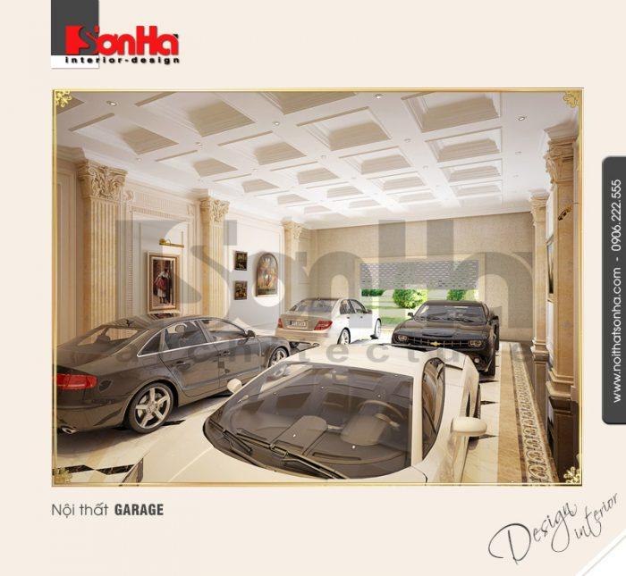 16.Mẫu nội thất garage đơn giản