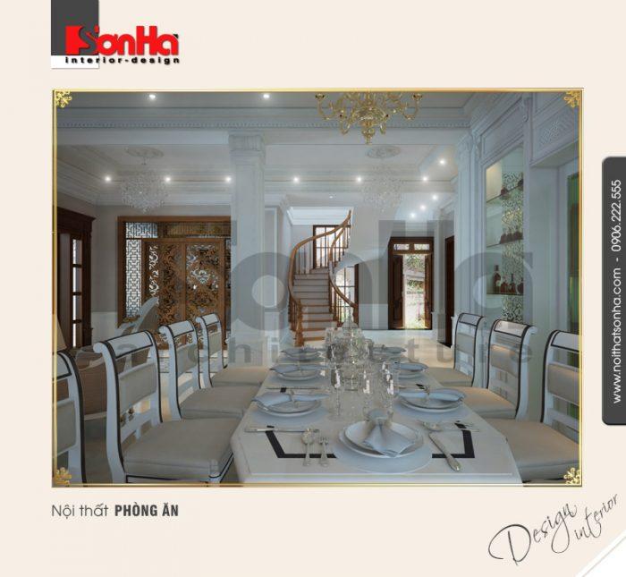 2.Mẫu nội thất phòng ăn đơn giản đẹp
