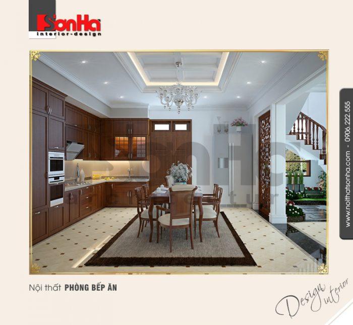 2.Mẫu nội thất phòng bếp ăn đẹp