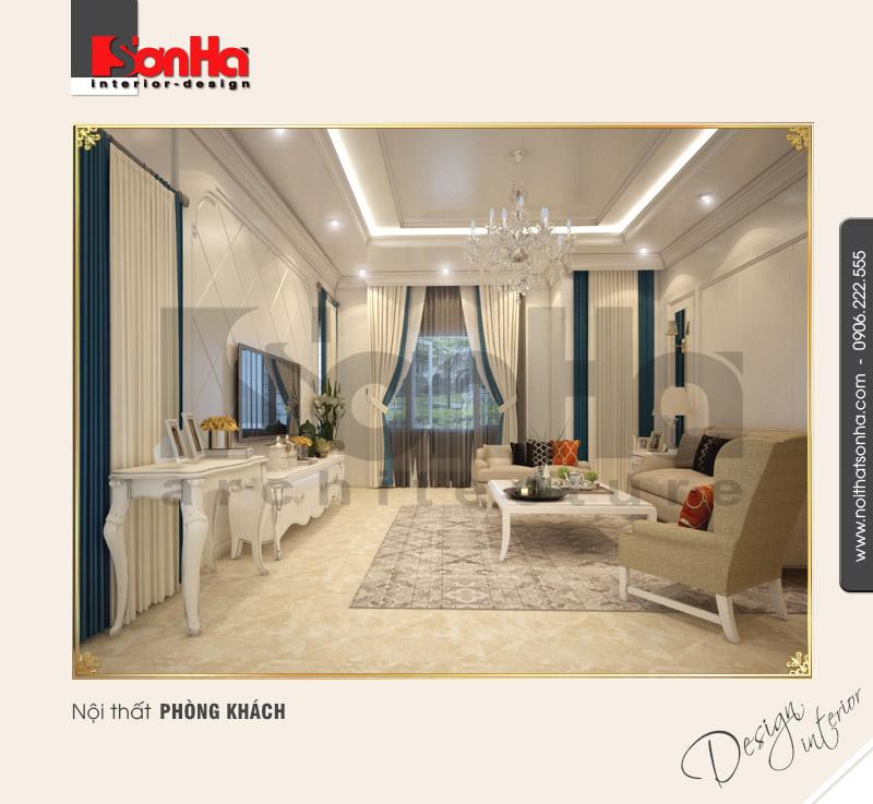 2.Mẫu nội thất phòng khách đơn giản đẹp