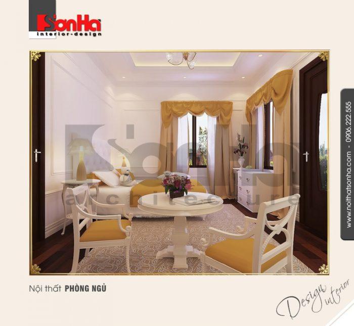 2.Mẫu nội thất phòng ngủ cổ điển đẹp