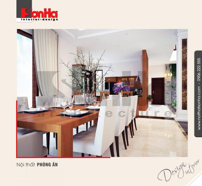 3.Thiết kế nội thất phòng ăn đơn giản