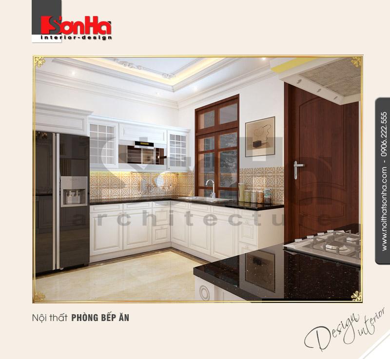 3.Thiết kế nội thất phòng bếp ăn tiện nghi