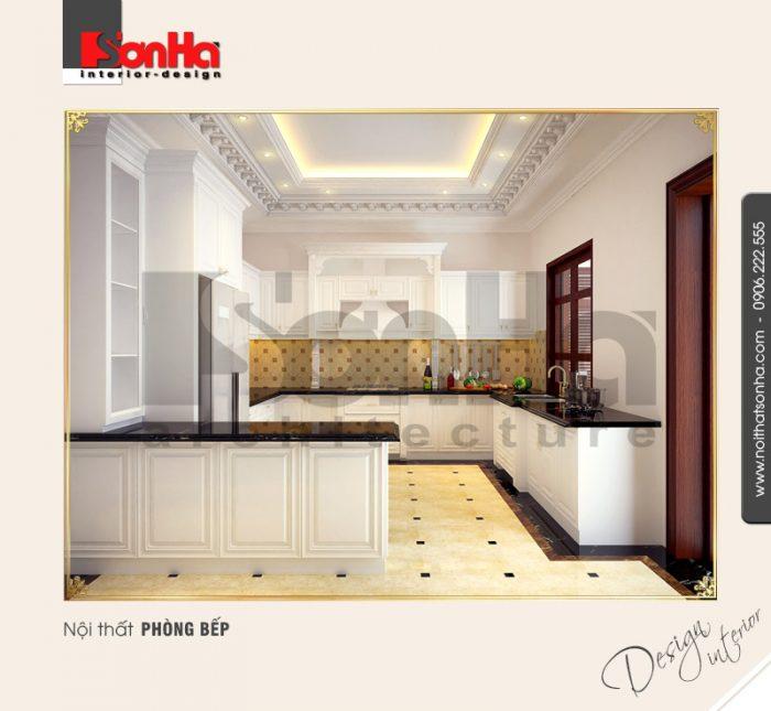 3.Thiết kế nội thất phòng bếp tiện nghi