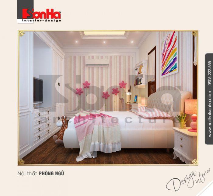 3.Thiết kế nội thất phòng ngủ dễ thương