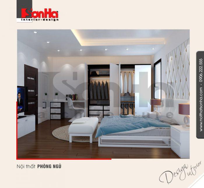 3.Thiết kế nội thất phòng ngủ đẹp hiện đại tại hải phòng NT NOD 0133