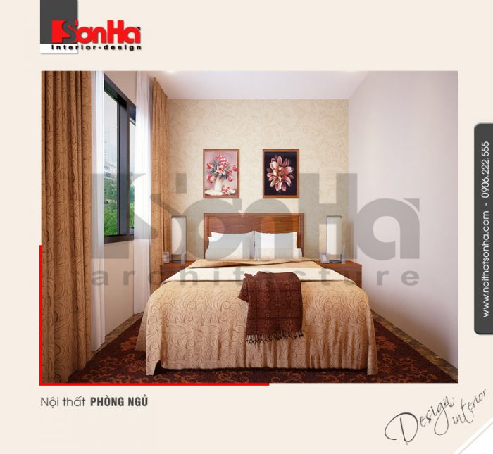 3.Thiết kế nội thất phòng ngủ đơn giản
