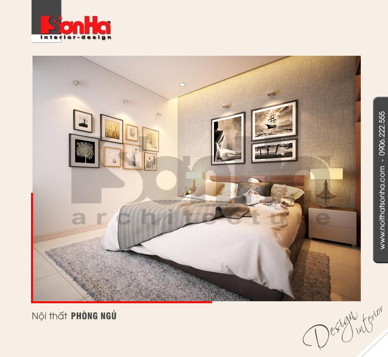 3.Thiết kế nội thất phòng ngủ hiện đại dành cho biệt thự tại hải phòng NT BTD 0039