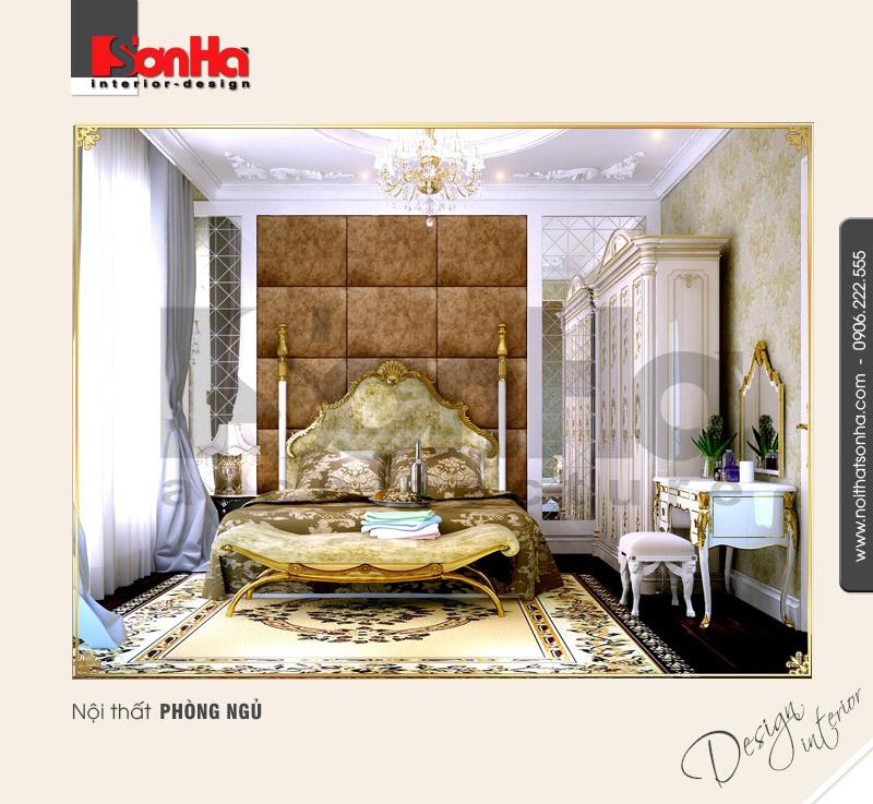 3.Thiết kế nội thất phòng ngủ sang trọng