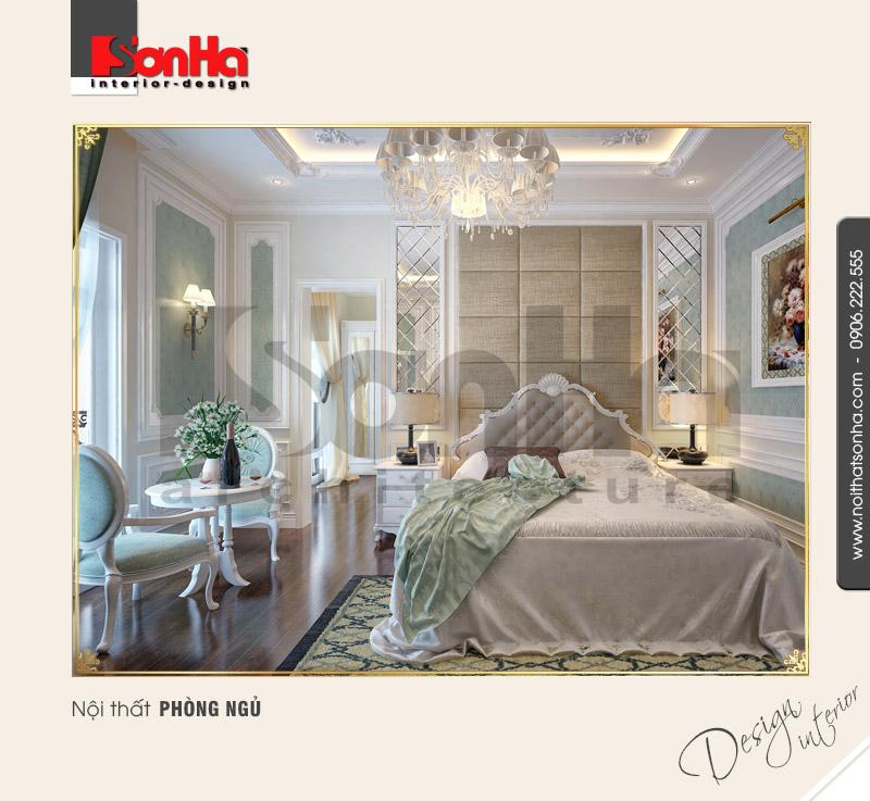 4.Mẫu nội thất phòng ngủ biệt thự đẹp