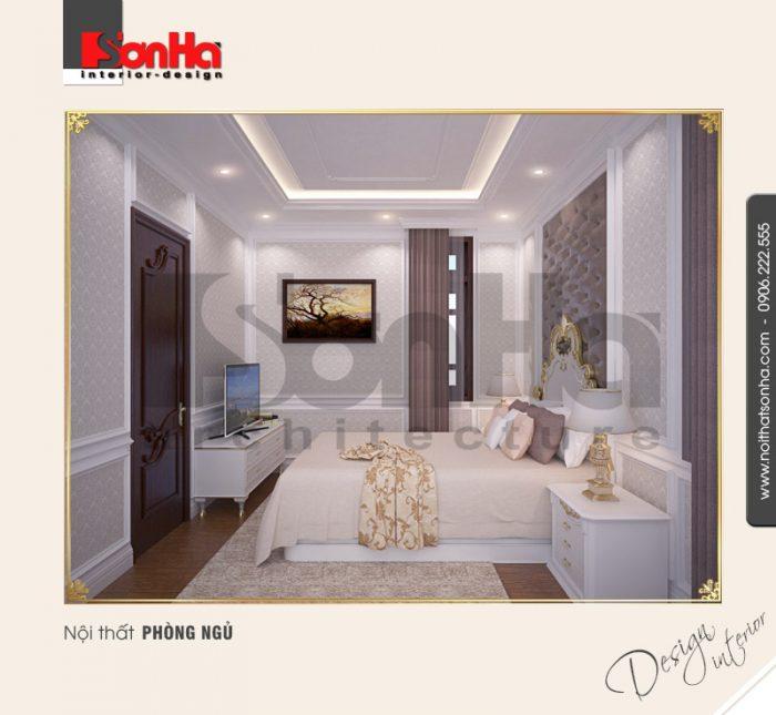 4.Mẫu nội thất phòng ngủ cổ điển đẹp