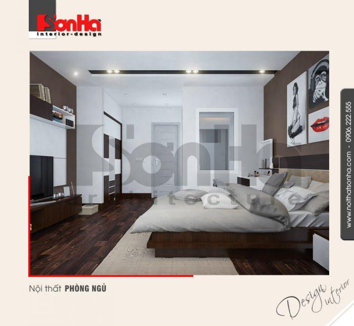 4.Mẫu nội thất phòng ngủ đẹp và đơn giản nhất NT NOD 0132