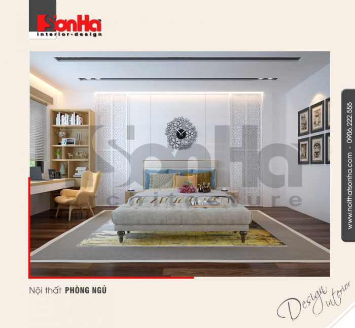 4.Mẫu nội thất phòng ngủ hiện đại