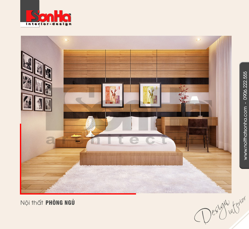 4.Mẫu nội thất phòng ngủ hiện đại khoa học tại quảng ninh NT NOD 0120