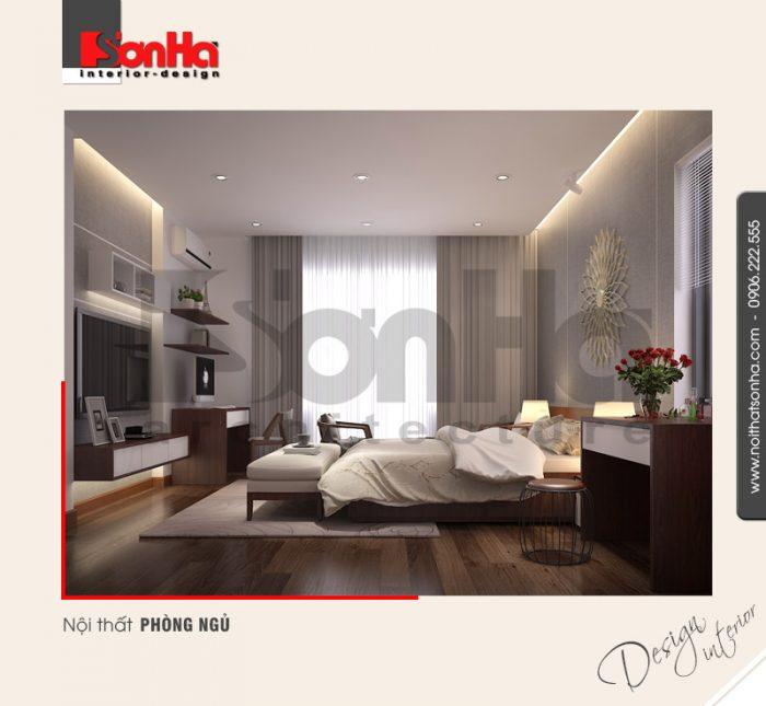 4.Mẫu nội thất phòng ngủ hiện đại tinh tế