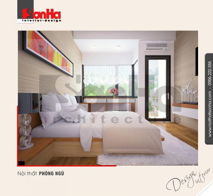 4.Mẫu nội thất phòng ngủ không gian hiện đại
