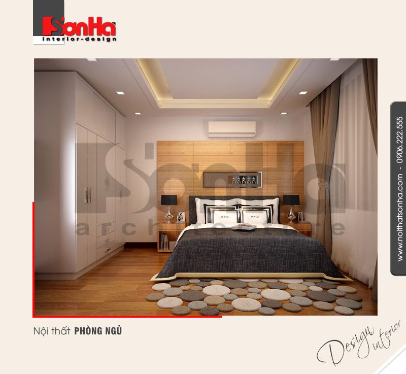4.Mẫu nội thất phòng ngủ nhà ống đẹp
