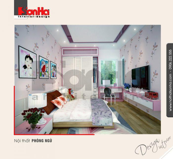 4.Mẫu nội thất phòng ngủ nhà phố hiện đại tại hải phòng NT NOD 0122