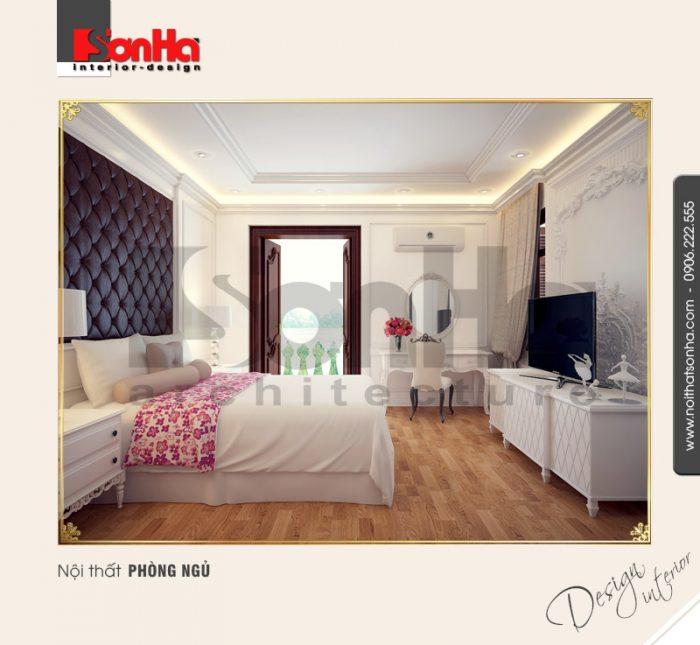 4.Mẫu nội thất phòng ngủ nhẹ nhàng