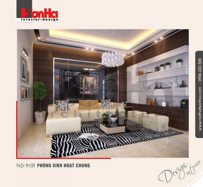 4.Mẫu nội thất phòng sinh hoạt chung đẹp hiện đại