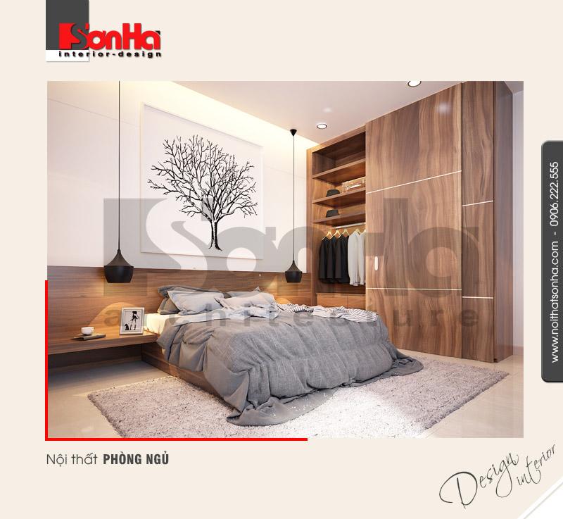 5.Thiết kế nội thất phòng ngủ biệt thự hiện đại ấn tượng tại hải phòng NT BTD 0039