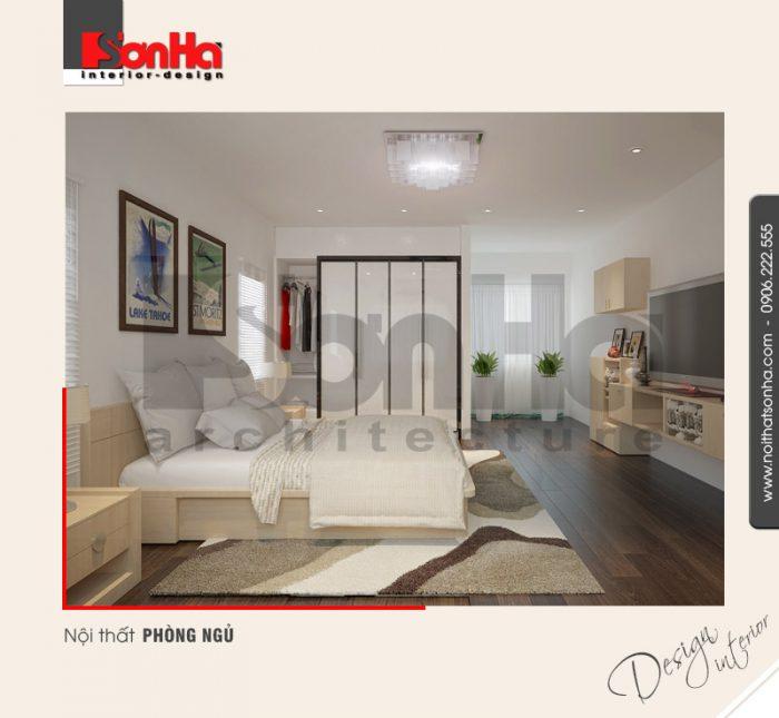 5.Thiết kế nội thất phòng ngủ cá tính hiện đại