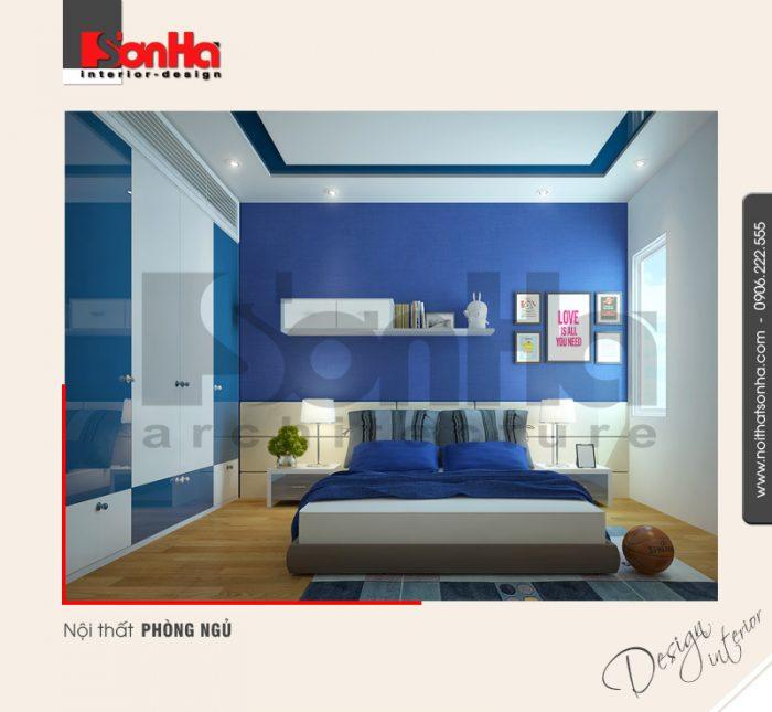 5.Thiết kế nội thất phòng ngủ dành cho con trai tại hải phòng NT NOD 0122